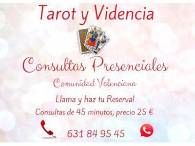 Tarot Presencial y Telefónico – Rituales