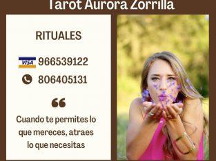 Expertas tarotistas y vidente Aurora Zorrilla