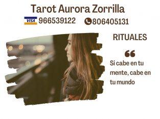 Vidente tarotista y canalizadora Aurora Zorrilla