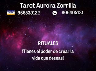 Vidente tarotista y canalizadora – Aurora Zorrilla